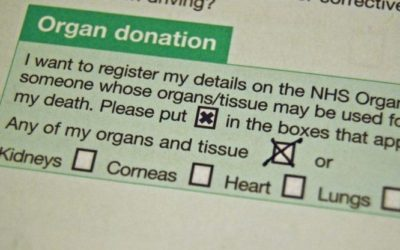 Organ donor by law in the UK.Government plans for everybody's organs to be automatically considered for donation is provoking a national debate.
