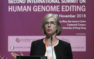 "Jennifer Doudna on gene edited babies said that she's ""horrified"" and"